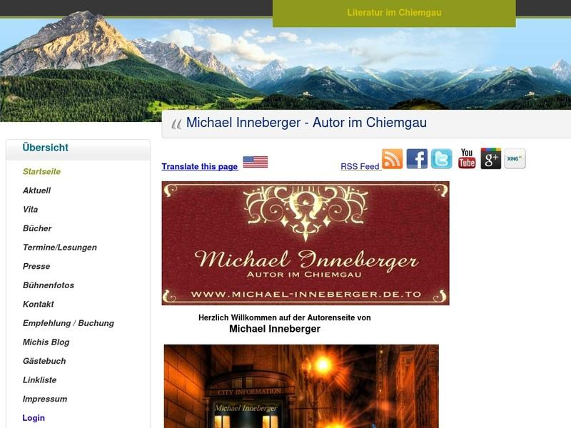 Screenshot von http://www.michael-inneberger.de.to